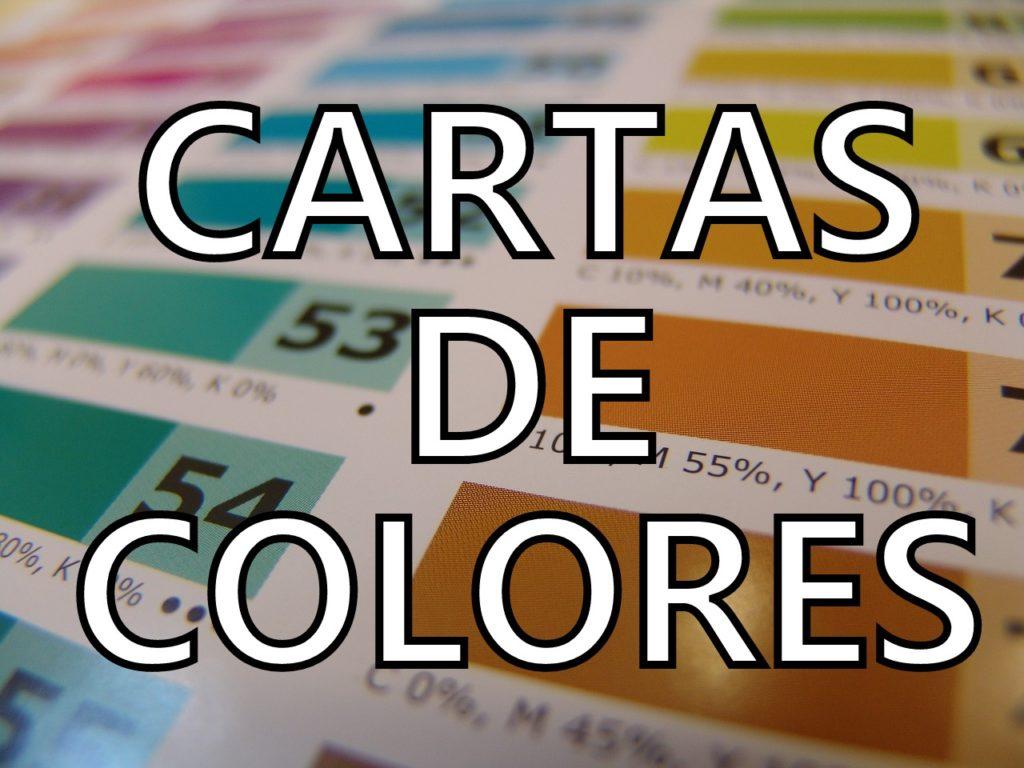 cartas de colores para pintar