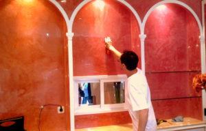 técnicas pintar paredes